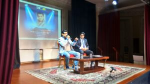 amit-kumar-at-nehru-centre-with-suresh-kumar