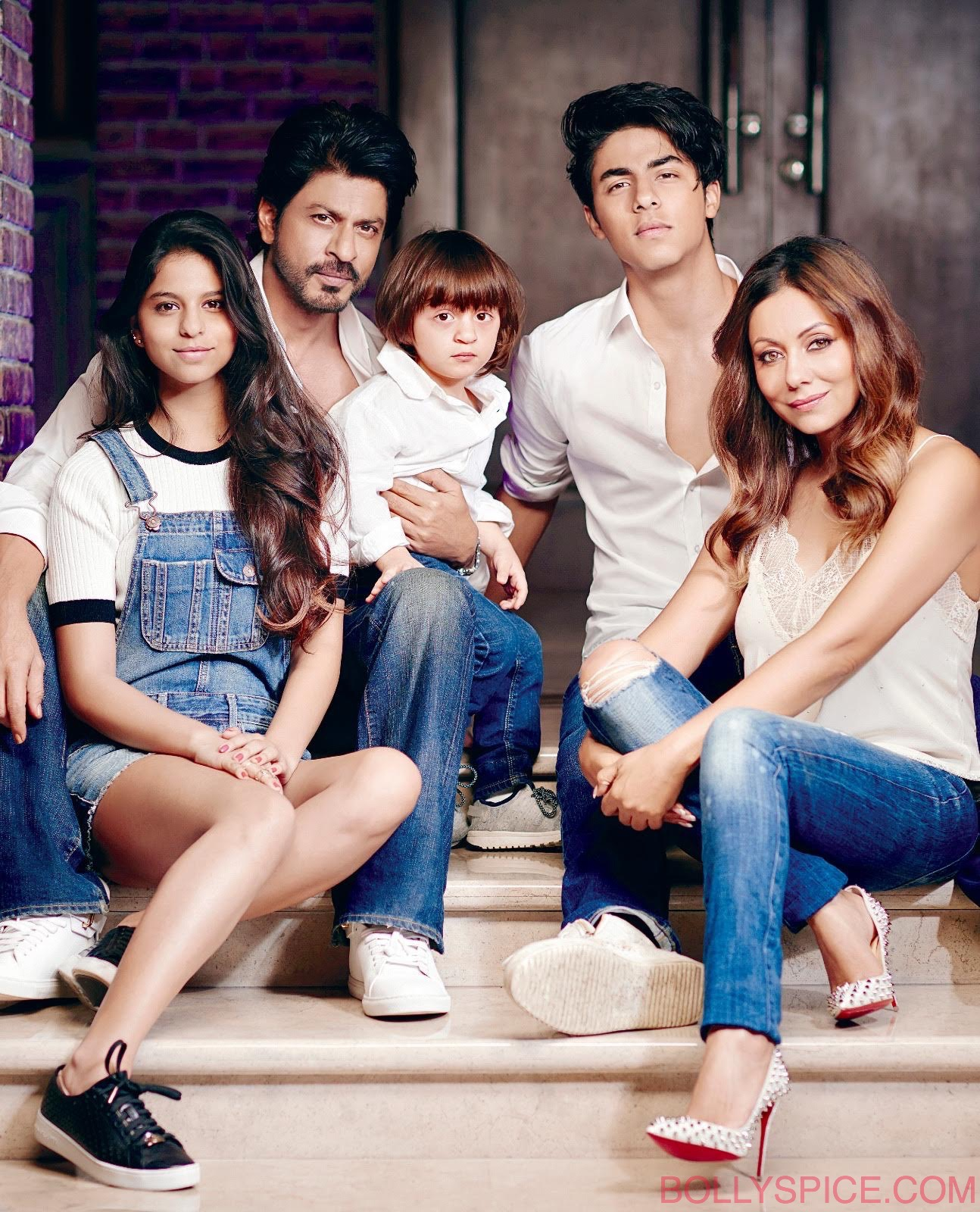 The Gorgeous Khans: Shah Rukh, Gauri, Aryan, Suhana and