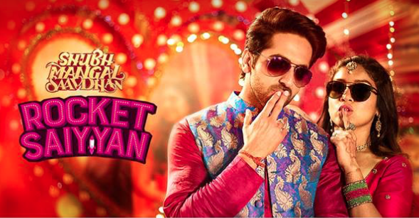 The trippy cool 'Rocket Saiyyan' from Shubh Mangal Saavdhan