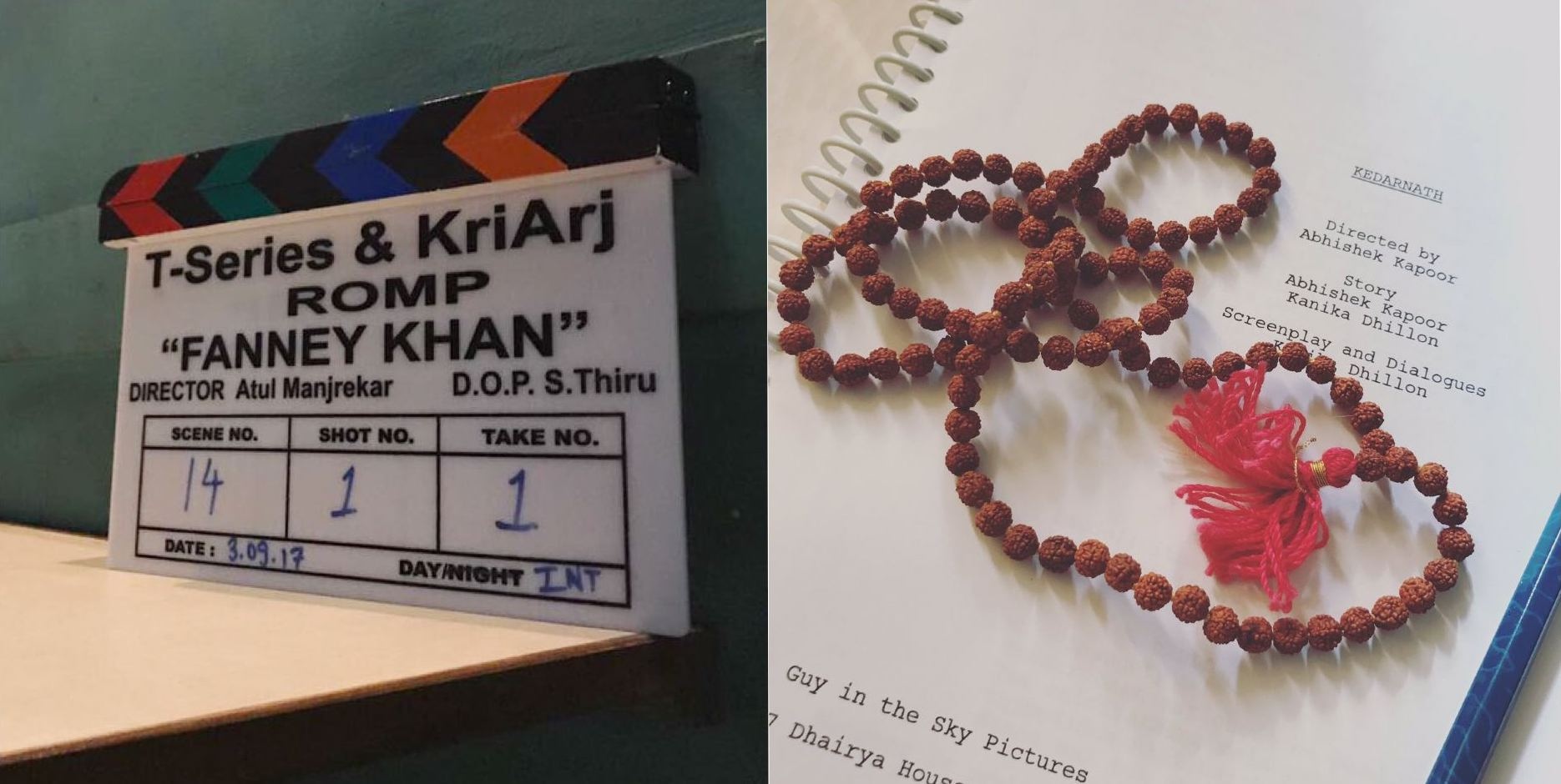 Two exciting films, Kedarnath and Fanney Khan to go on floors simultaneously!