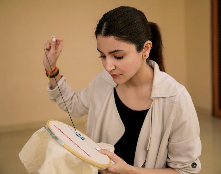 Anushka Sharma prepares for 'Sui Dhaaga'