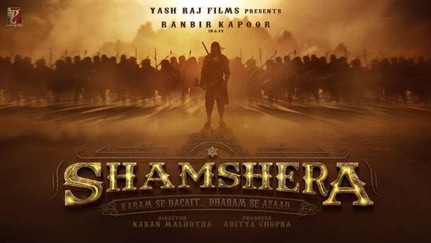 Ranbir Kapoor turns fierce dacoit in YRF's Shamshera, watch first look video